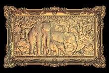 Modèle 3D STL pour CNC routeur graveur sculpture Machine soulagement Artcam aspire éléphant M42
