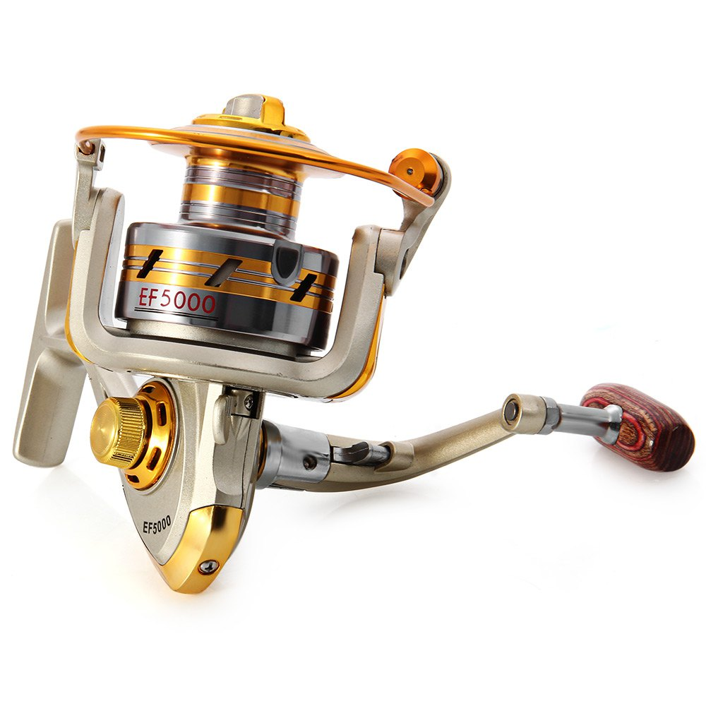 EF1000 - 7000 Series Metal Spool Carretilha pesca Roda Molinete Peixe Carretel De Pesca De Água Salgada 10 Rolamento De Esferas 5.51