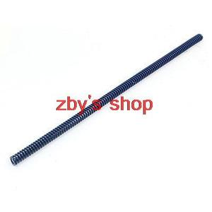 """7 x 14 x 300mm Blue Stamping Flat Coil Wire Compression Spiral Die Spring 12"""""""