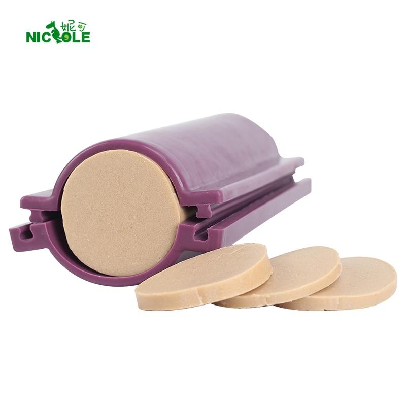 Круглая силиконовая форма для мыла форма колонны трубы для DIY ручной работы