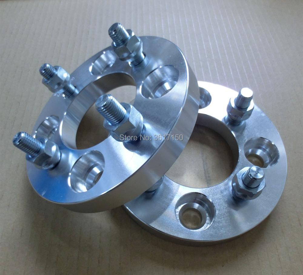 Adaptadores de Roda 25mm 4*100 Para 4*114.3 Furo Central PCD 60mm Roda Studs M12X1.5