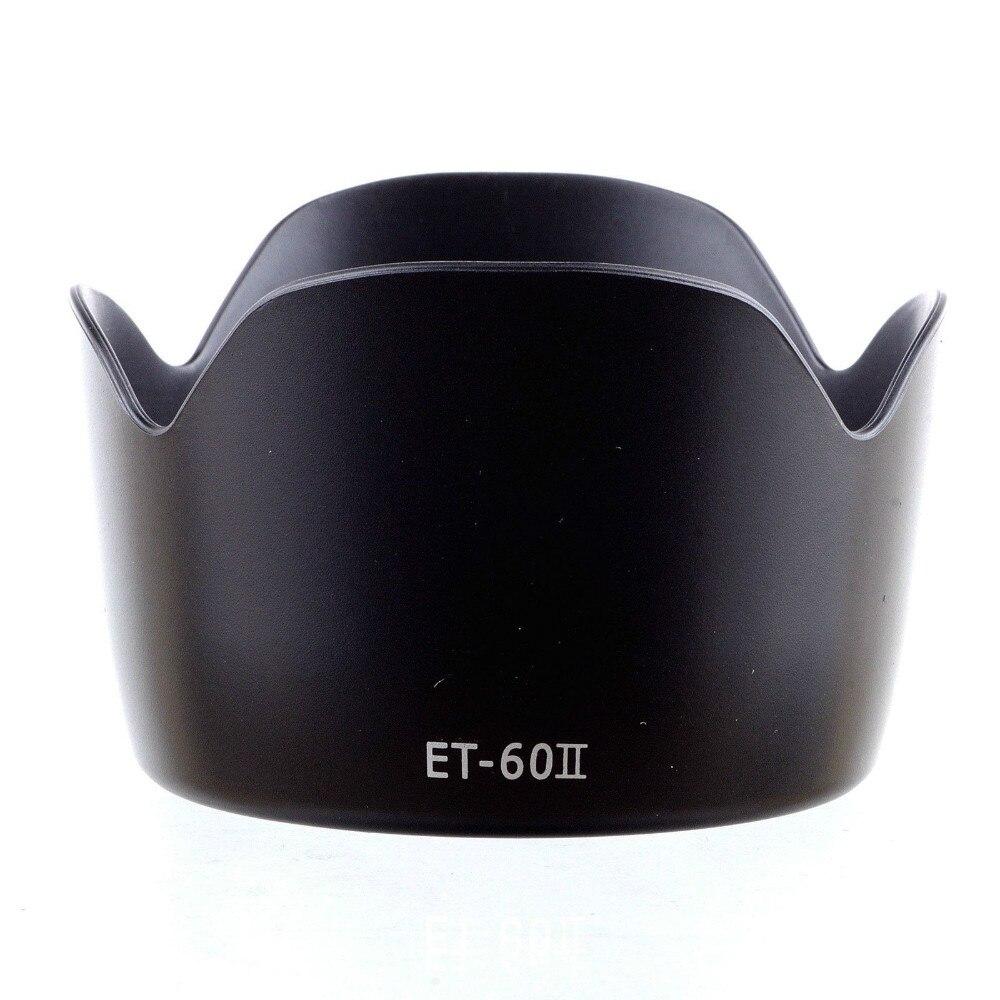 NOVA ET-60 II lens hood Para Canon EF75-300MM F/4-5.6 III EF-S 55-250 MILÍMETROS F /4-5.6 É