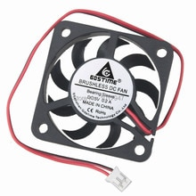 2 pièces LOT Gdstime 4007S 5V 2Pin 4cm 40mm 40x40x7mm ventilateur de refroidissement sans balais