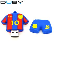 Clé USB barcelone Pendrive Messi 10 numéro Jersey USB 2.0 clé USB stylo lecteur 8GB 4GB 16GB 32GB clé mémoire 128GB