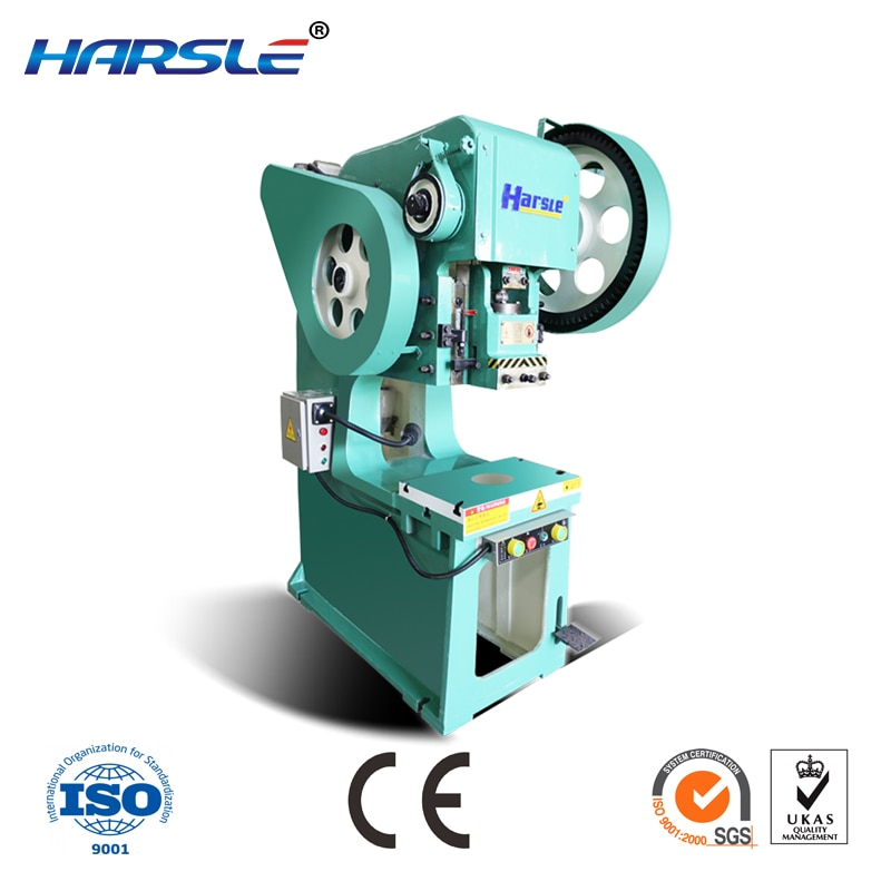 high precision deep throat power press