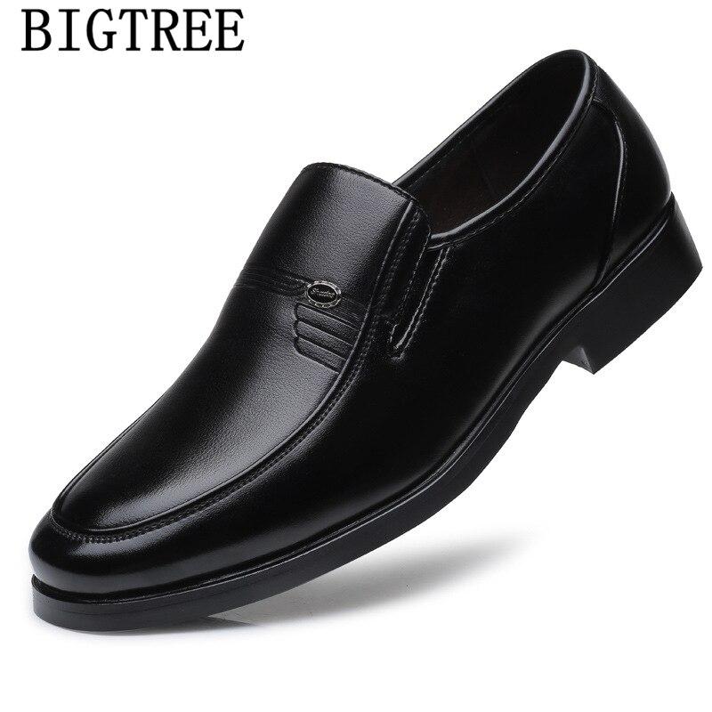 Sapatos de Couro de Luxo Sapatos de Couro Sapatos de Homem Sapatos Casuais