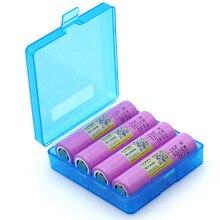 Liitokala 4 pièces nouveau 3.7 V 18650 ICR18650-26F 2600 mAh batterie Li-ion pour batterie dordinateur portable adapté pour lampe de poche + boîte