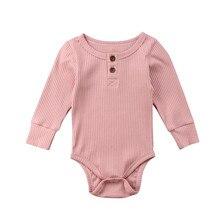Nouveau-né coton mignon manches longues unisexe   Body pour bébé garçon et fille, vêtements pour bébé, corps, hauts à Leotard