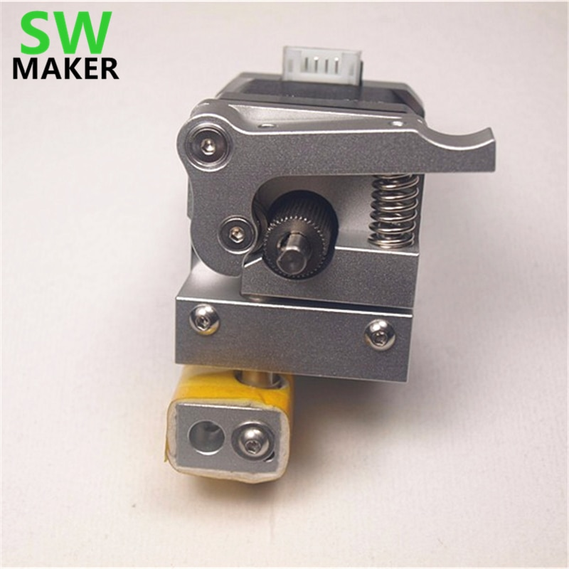 SWMAKER 1 комплект Wanhao i3 3D принтер обновление MK10 PTFE подкладка Hotend металлический экструдер комплект для Wanhao i3 0,4 мм 1,75 мм
