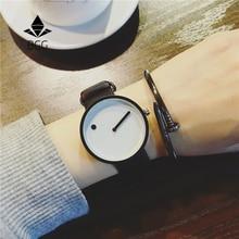 2019 style minimaliste montres créatives BGG noir et blanc nouvelle montre design