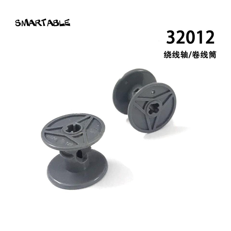 Smartable MOC Technic катушка для намотки проволоки строительный блок детали привода креативные игрушки совместимый technic 32012 20 шт./лот