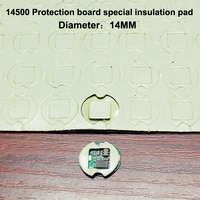100pcslot 14500 lithium battery pack high temperature insulation double sided rubber protection board special insulation gasket