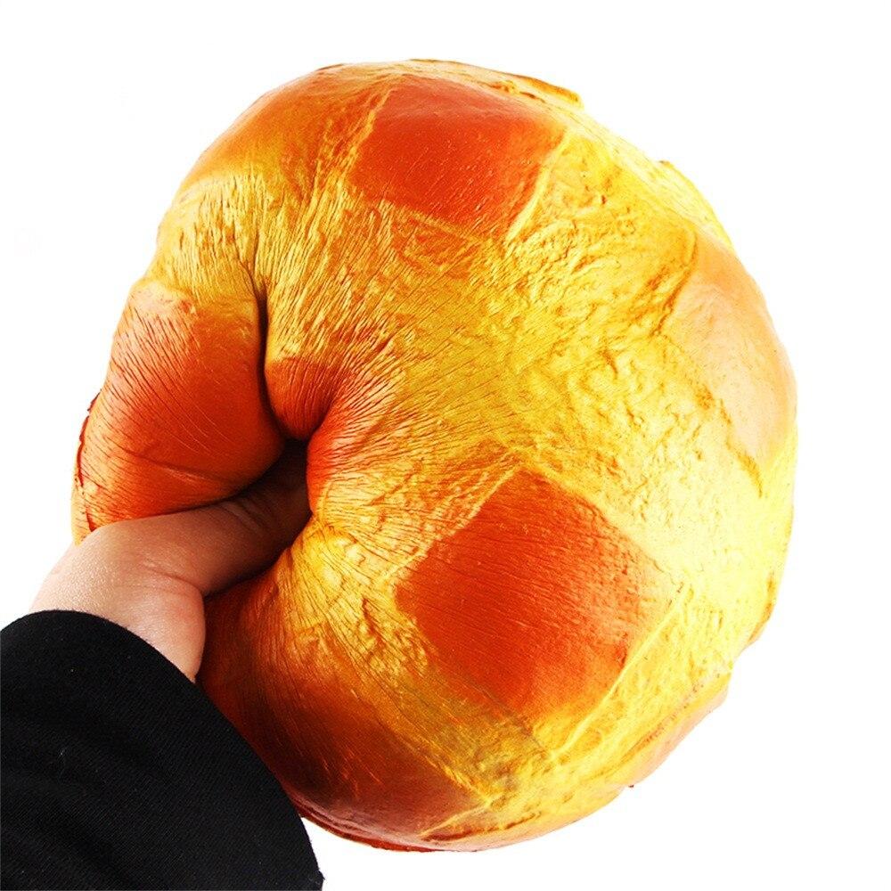 10CM comida Squishy colosal de pan de juguete Super lento Rising elástico perfumado juguete Eric Kiibru squishies juguete colección de 25-30