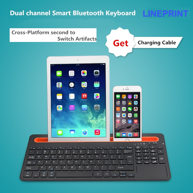 Promo 2016 Fashion Touch Panel Bluetooth keyboard for 10.6 inch chuwi vi10 ultimate  tablet pc for chuwi vi10 ultimate keyboard