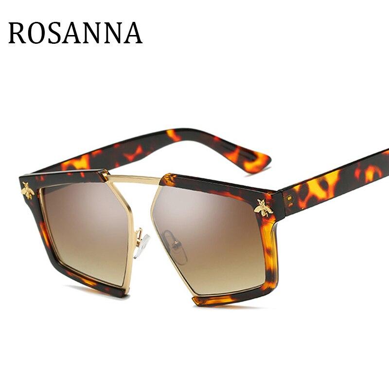 Gafas de sol nuevas de la marca Bee, gafas de sol de moda para mujer, gafas de sol de alta calidad de Metal con marco grande, gafas de sol Oculos UV400