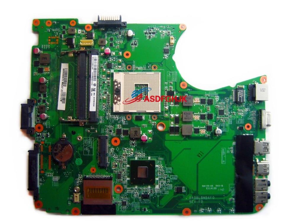 لوحة أم للكمبيوتر المحمول توشيبا L750 L755 A000080670 DA0BLBMB6F0 100% TESED OK