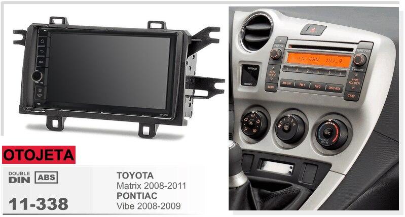 Apto para TOYOTA matrix vibe pontiac quad core android 8,1 marco coche radio multimedia estéreo unidades de cinta grabadora gps