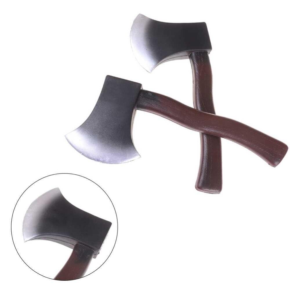 Como sus hijos una parodia en la película adhesiva de la Pu accesorios de simulación espada arma categoría cuchillo de espuma de juguete Ax juguetes suaves de seguridad