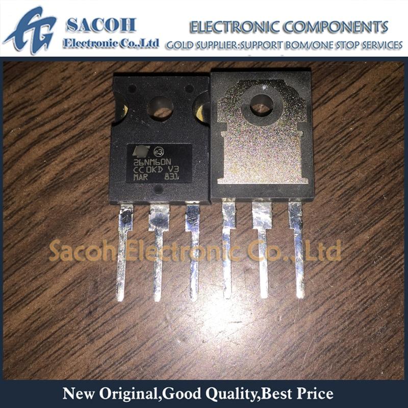 Free shipping 10Pcs STW26NM60N 26NM60N STW27NM60ND 27NM60ND TO-247 N-channel 600V 20A Power MOSFET