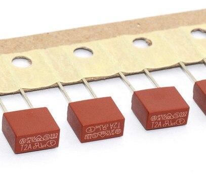 600pcs/good 392 rectangular miniature fuse tube 250V T1A/T2A/T3.15A/T5A/T500MA/T4A(6kinds each for 100pcs)also can all in 1kinds