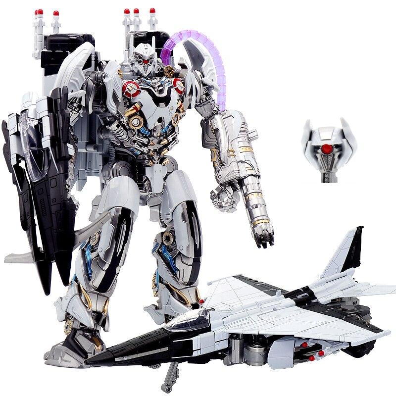 Transformación Nitro Zeus avión modo LS01 LS-01 TF película KO gran tamaño aleación acción figura Robot colección Juguetes