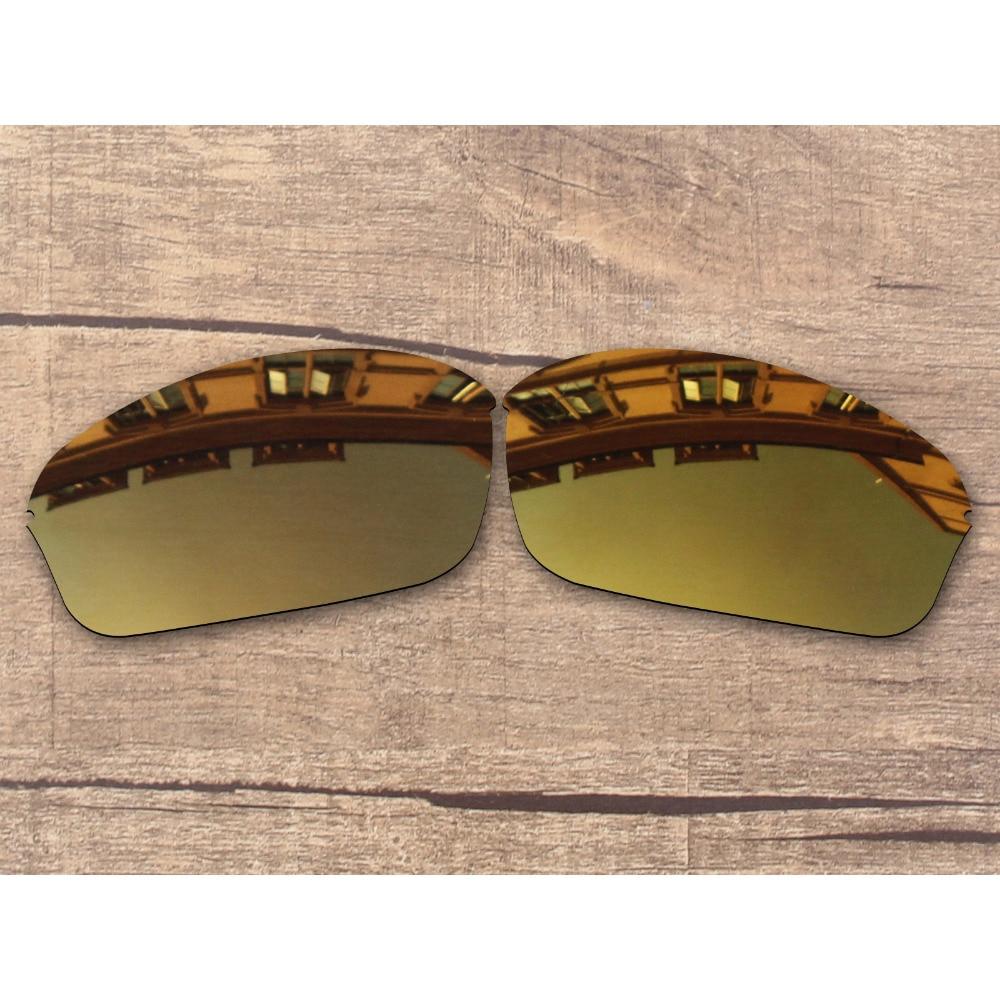 Vonxyz Bronze Mirror Polarized Replacement Lenses for-Oakley Half Wire 2.0 Frame