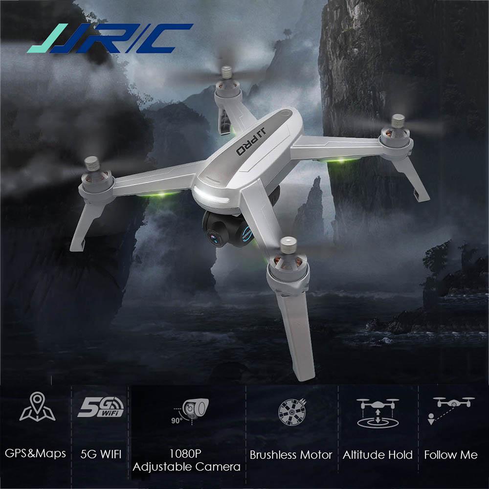 En Stock JJRC JJPRO X5 RC Drone 4k Profesional 5G WiFi FPV RC sin escobillas GPS con cámara HD inteligente quadcóptero que mantiene altitud juguete