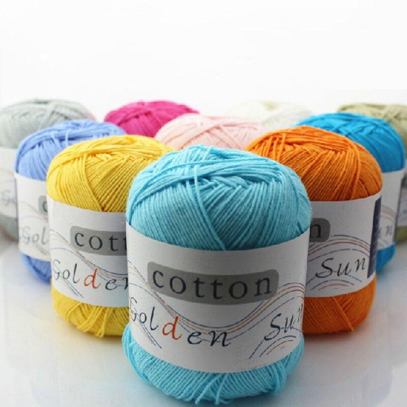 Hilo de Cachemira tejido a mano de alta calidad de 100%, 50g/rollo, para tejer a mano, lana de bebé, tejido a mano suave