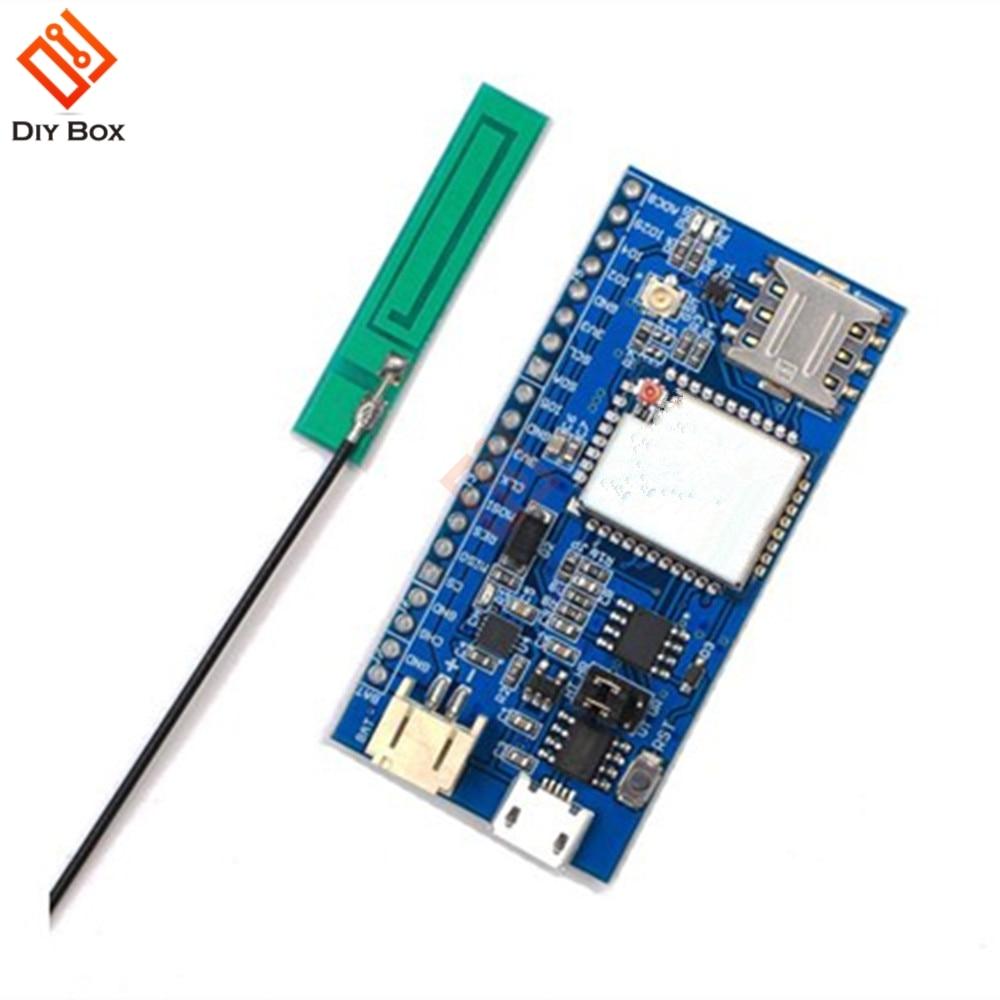 3.7V Air202 GSM GPRS Node V1.0 Quadband GSM/GPRS Onboard USB To TTL Chip CH330N Module With Antenna Diy Kit