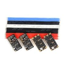 4 pièces Holybro Tekko32 F3 35A ESC BLHeli_32 3-6S F3 MCU dfusil 1200 capteur de courant intégré WS2812B LED pour Drone RC FPV pièce de course