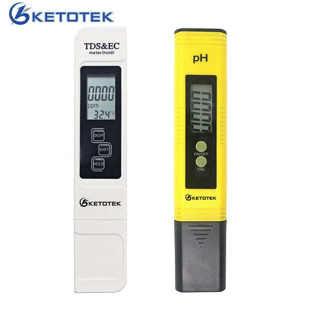 Цифровой портативный измеритель PH Lab PH TDS тестер ATC автоматическая калибровка TDS EC измеритель чистоты воды фильтр PPM гидропонный бассейн