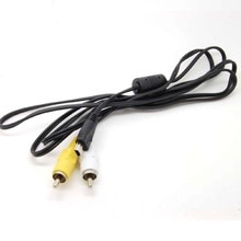 USB 10Pin Stéréo Câble AV pour Canon Vidéo AVC-DC400ST AVC-DC400 EOS 60D 5D 7D 550D 600D 1000D 1100D 1500D 400D 450D 500D