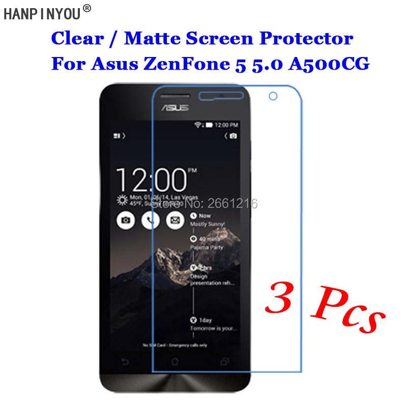 3 unids/lote nuevo HD claro/antideslumbrante mate Protector de pantalla frontal película táctil...