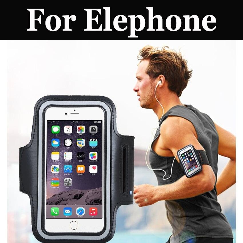 Deportes gimnasio correr brazalete de brazo de soporte para Elephone P9000 Lite P9000 R9 S7 Mini S7 M3 S3 Vowney P8 mini C1 Max S8 P8 U Pro