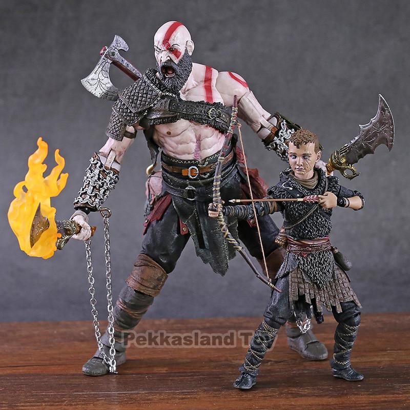 God Of War 2018 Ultimate Action Figure 2 Pack Kratos Atreus Neca Action Figures Aliexpress