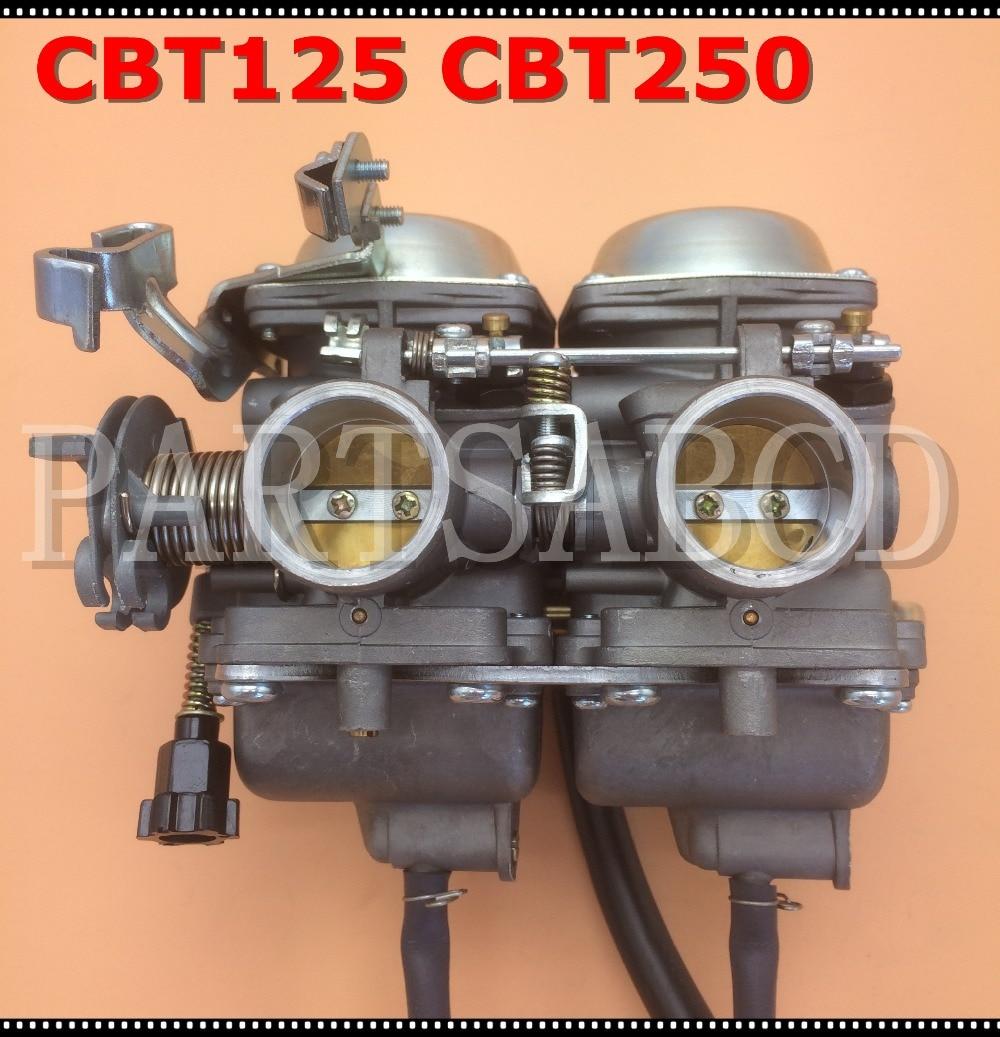 CB250 26mm carburador PD26JS 250cc para Johnny de la motocicleta Suzuki CBT125 CBT250