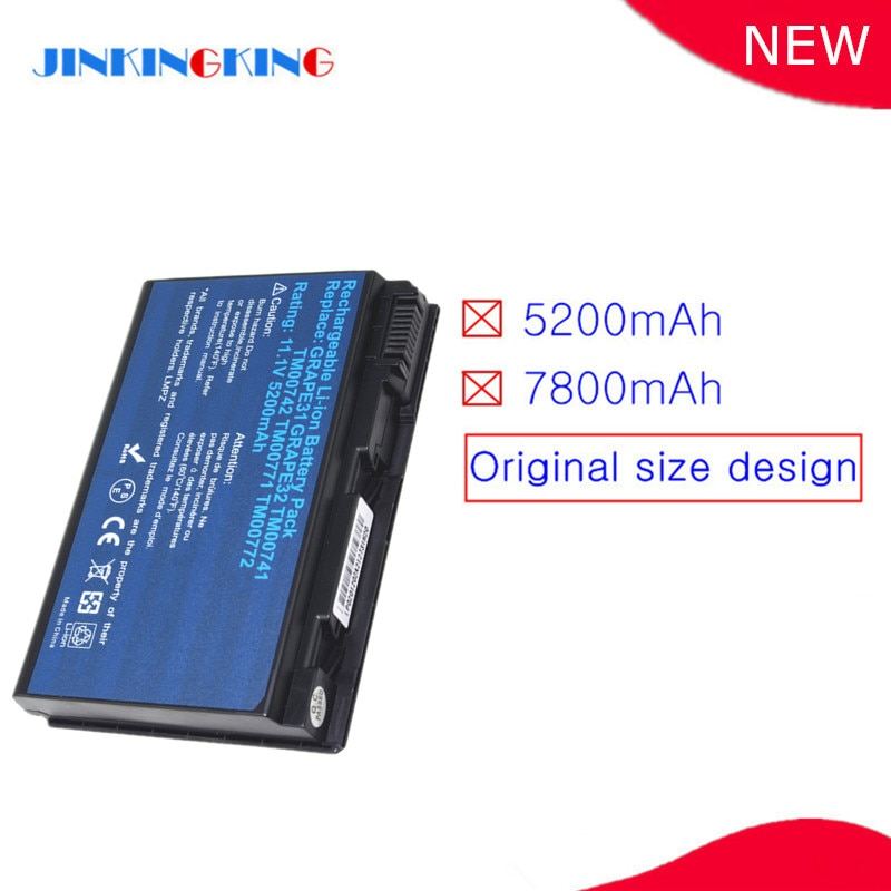 GRAPE32-batería para portátil, para Acer TravelMate 5220G 5230 5310 5320 5330 5520G...