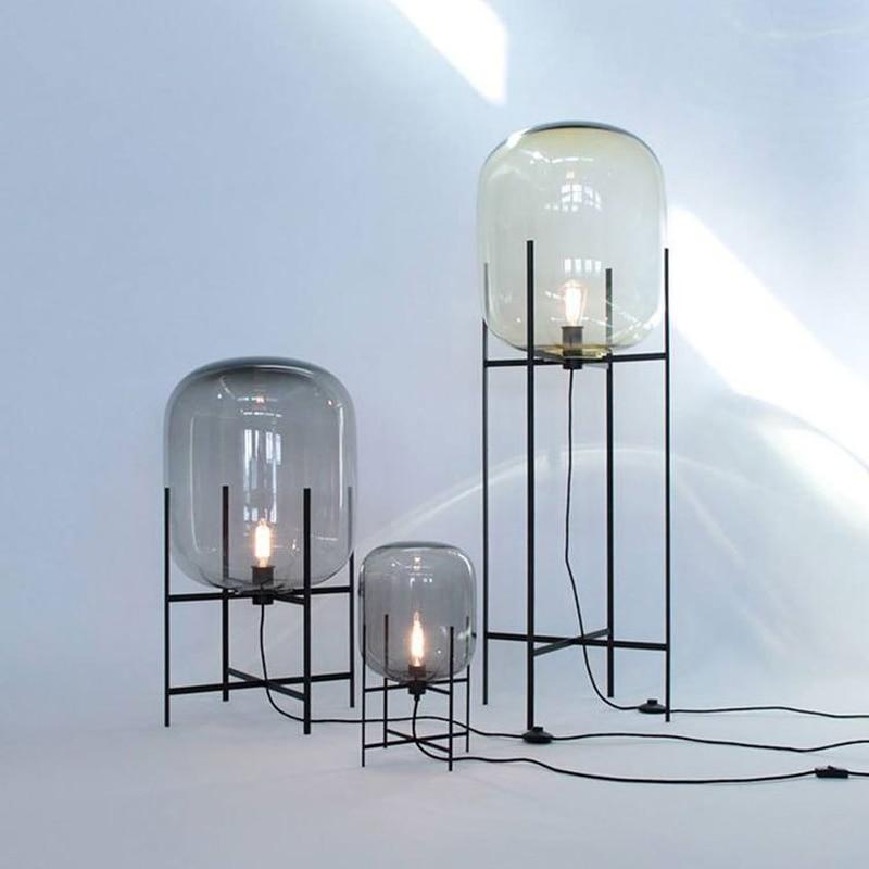 مصباح LED قائم بذاته بتصميم ما بعد الحداثة ، تصميم بسيط ، إسكندنافي ، مثالي لغرفة المعيشة أو غرفة النوم أو المطعم ، لمبة E27