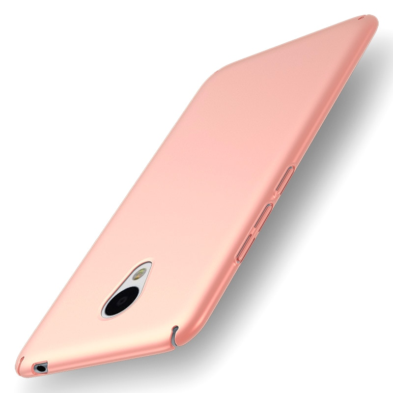 For Meizu m5s note phone Cases smooth hard PC back cover Silky ultra-thin protective shell iGDS HTB1oa 4PpXXXXc