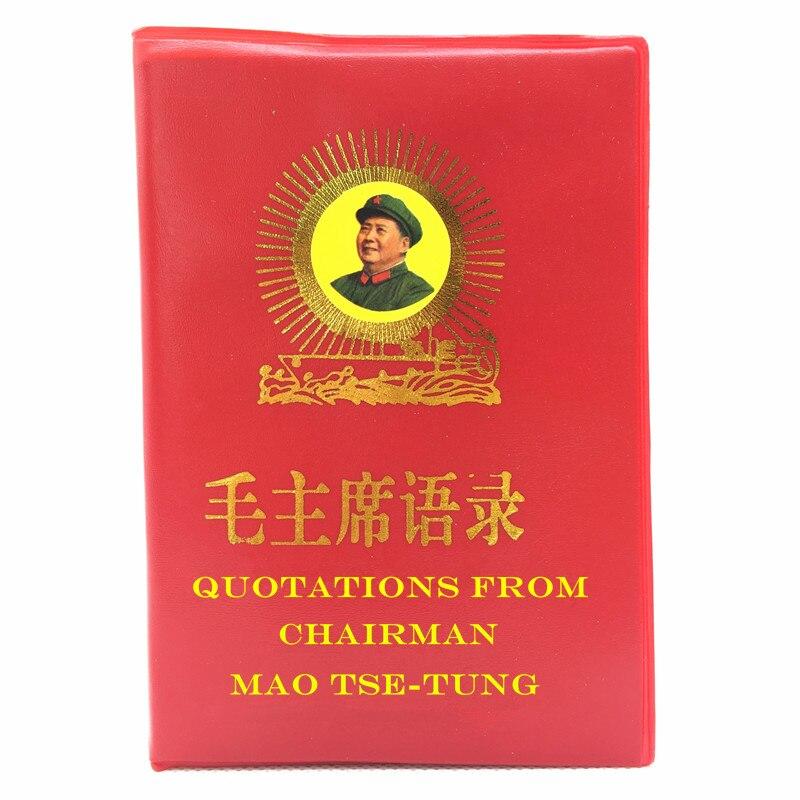 Las citas del presidente Mao tse-tung el Pequeño Libro Rojo libros chinos/Inglés para adultos