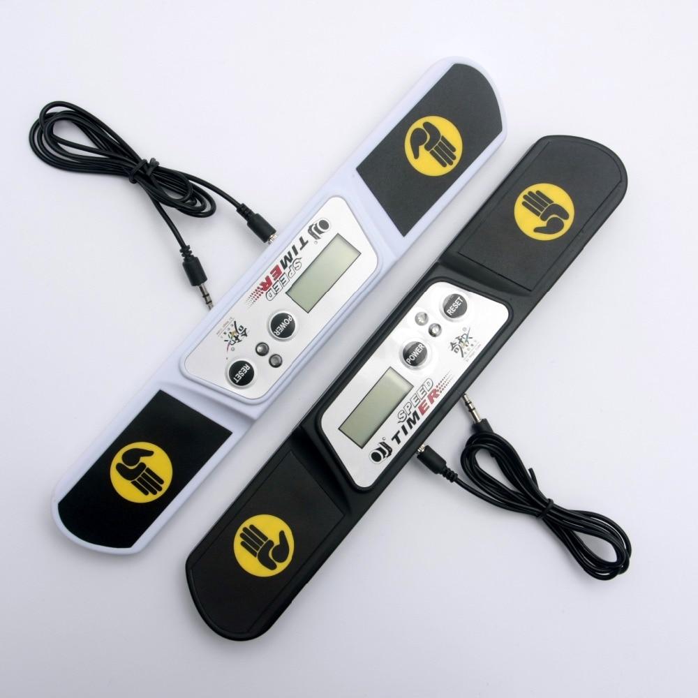 QJ Geschwindigkeit-Cubing V3 Timer Balck und Weiß Stapel Tasse Fliegende Timer Hat EINE Nata Port und Kann Nicht verbunden werden zu PC Mikrofon Port