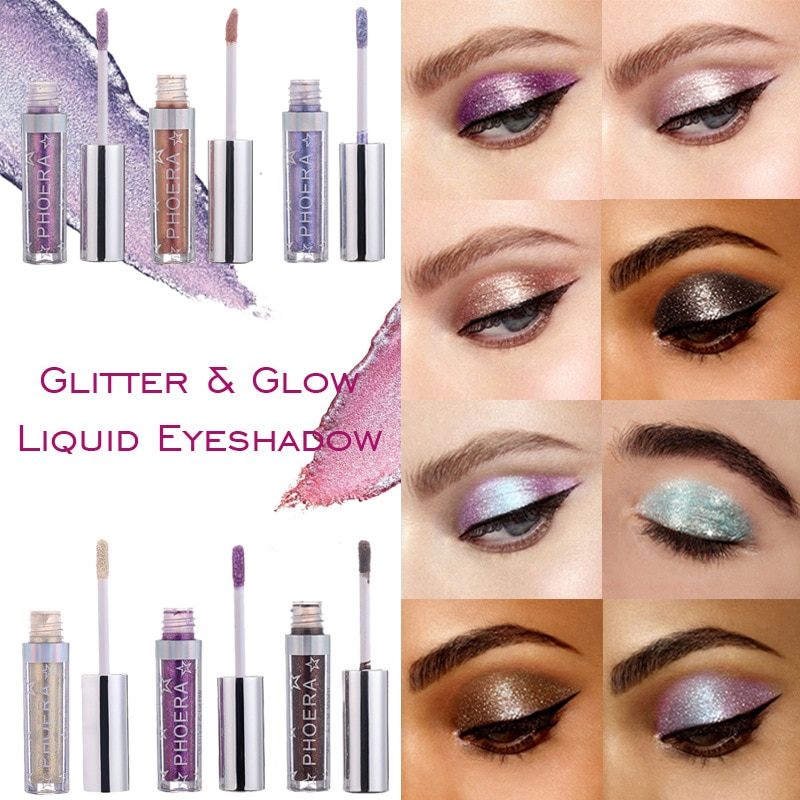 Metallic Diamond Pearly Watery Eyeshadow Sparkling Radiant Fashion Liquid Eyeshadow Eye Makeup Glow Liquid Eyeshadow TSLM2