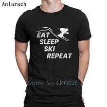 Ski Sports dhiver Slalom montagne Ski alpin T-Shirts Hiphop Slogan populaire coton t-shirt Streetwear Slim créature t-shirt