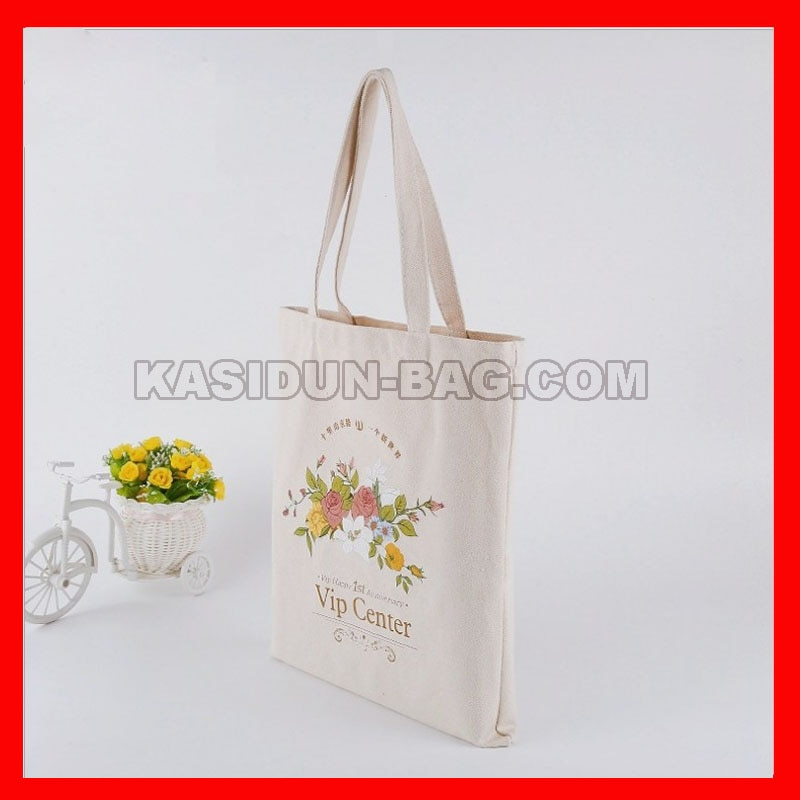 (500pcs/lot)  personlize custom canvas cotton shopping bag with logo