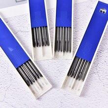 6 pcs/lot HB 2B 4B Grade noir conduit recharges de stylo pour lexamen scolaire crayon mécanique bureau école écriture fournitures pour les étudiants