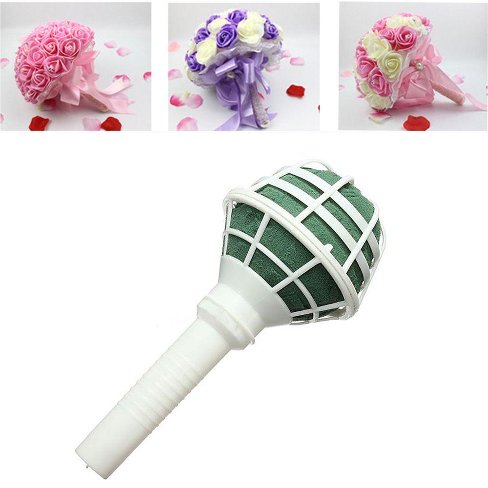 1 шт. DIY свадебная Роза цветочная ручка букета цветок держатель устройства для украшения свадебные принадлежности