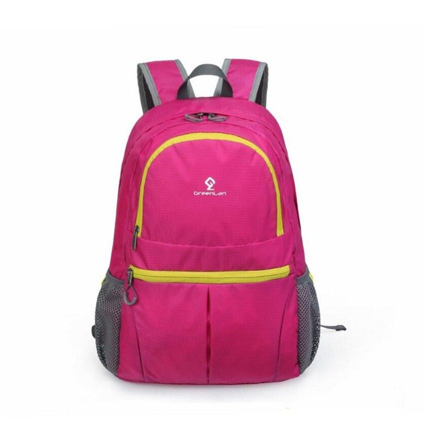 Высокое качество складной рюкзак нейлоновый мешок спорта на открытом воздухе