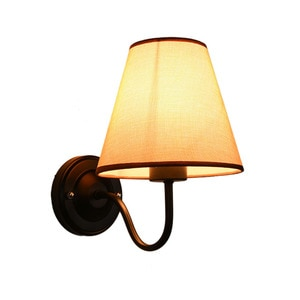 American Country Modern Wall Light Hall Aisle Lamp Modern Simple Bedroom Bedside Lamps Led Sconce Indoor Lighting