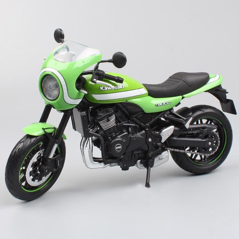 Miniaturas de juguete para la colección de motos de carreras de carretera a presión de vehículo de carreras a escala 112 clásico Kawasaki Z900 RS para 2017