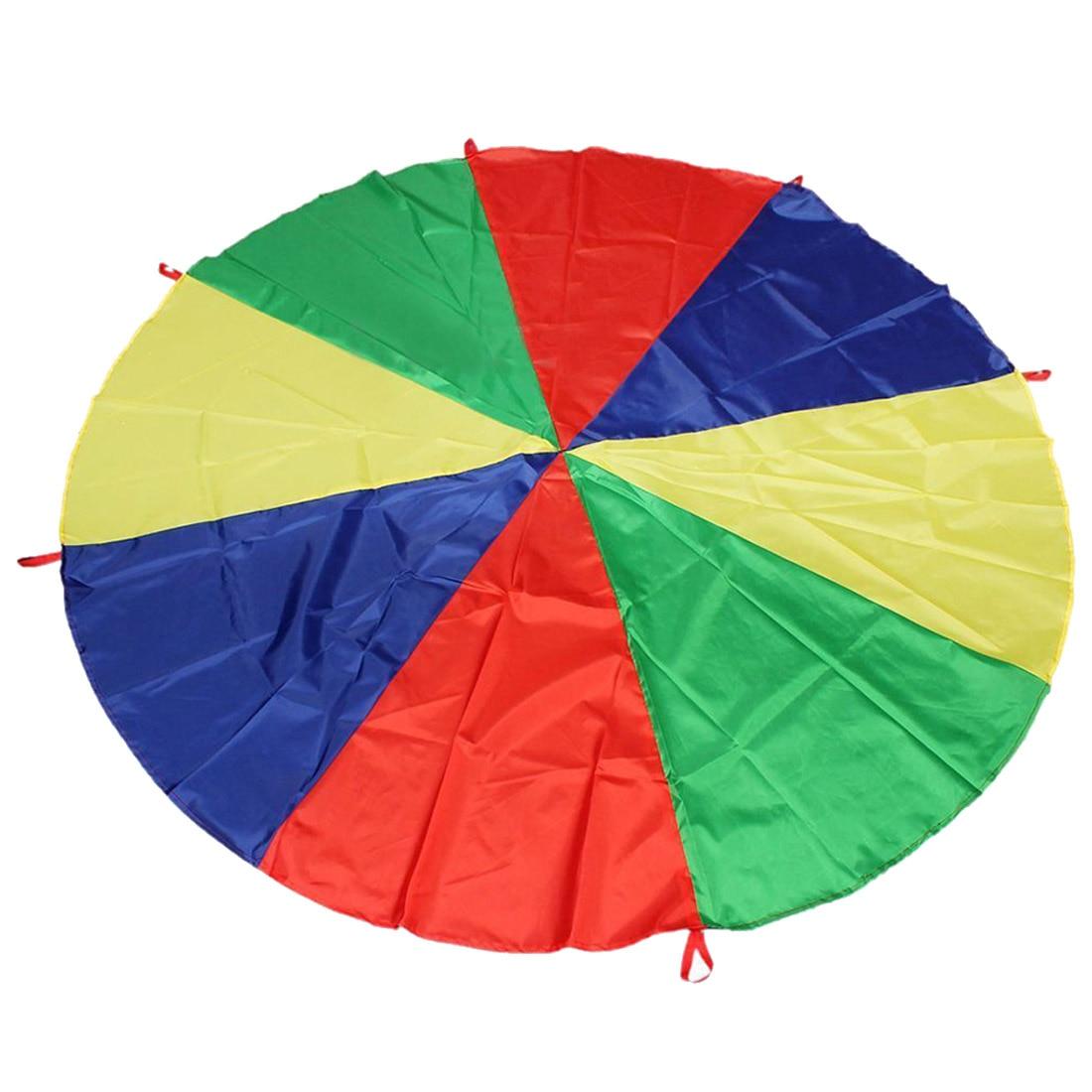 ¡Superventas! Paracaídas de arcoíris para niños de 2M/6,5 pies de ABWE